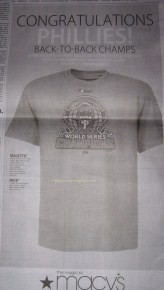 Macy's World Series Tshirt