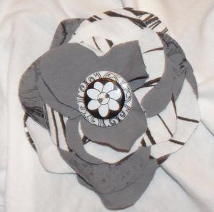 Finished Fabric Flower Image