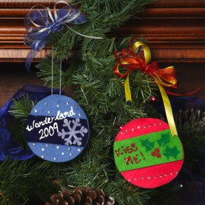Felt Fabric Christmas Ornaments