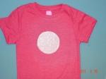 Ferris Wheel Day T-Shirt Craft -step one