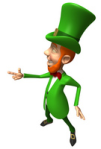 St Patricks Day-Leprechaun