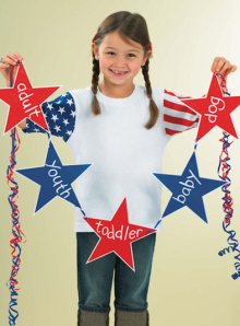 Youth Stars and Stripes T-Shirt