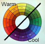 Color Wheel-warm and cool colors