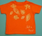 Fall Leaf T-Shirt Craft