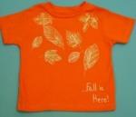 Fall Leaf T-Shirt Craft