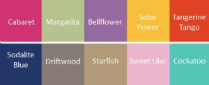 Pantone Spring 2012 Color Trends