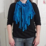 T-Shirt Into Scarf Craft