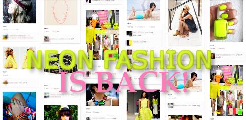 Neon Fashion on Pinterest
