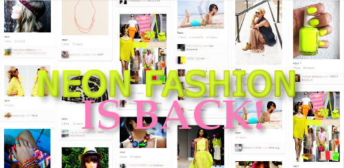 Neon Fashion on Pinterest