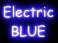 2013 Summer Color Trends Electric Blue