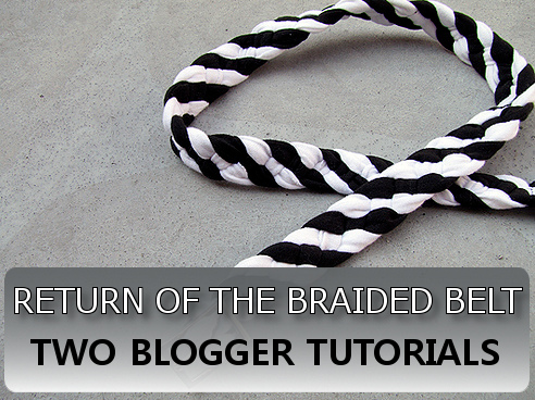 Turn Your Tee into a Braided Belt