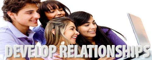 Blogging can Develop Relationships