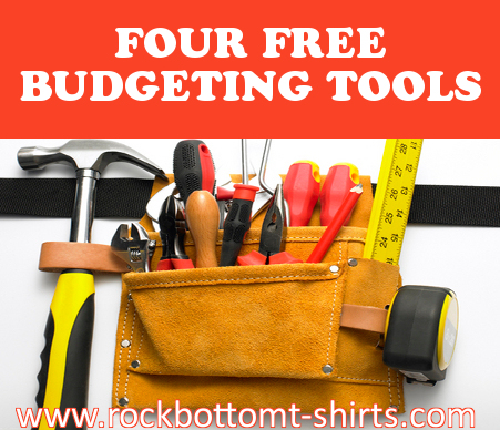 Four Free Budgeting Tools