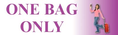 Frugal Travel - One Bag