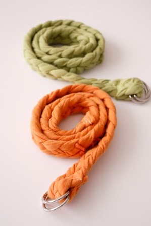 Braided Belt Tutorial by Delia Creates.