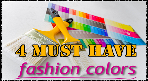 Colors You Can't Do WIthout