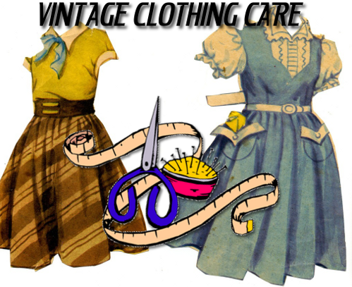 Vintage Clothing Care