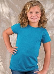 Girls Vintage Turquoise T-Shirt