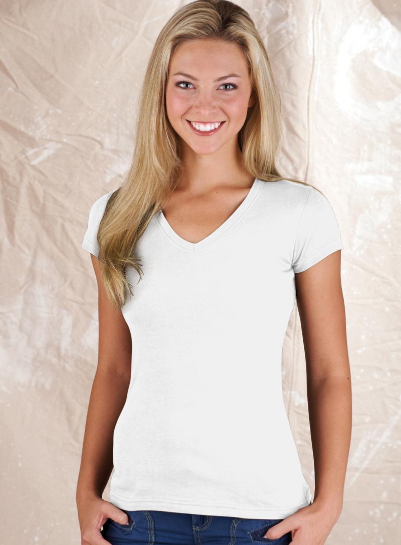 White tee rock bottom t shirts blog for V neck black t shirt women s